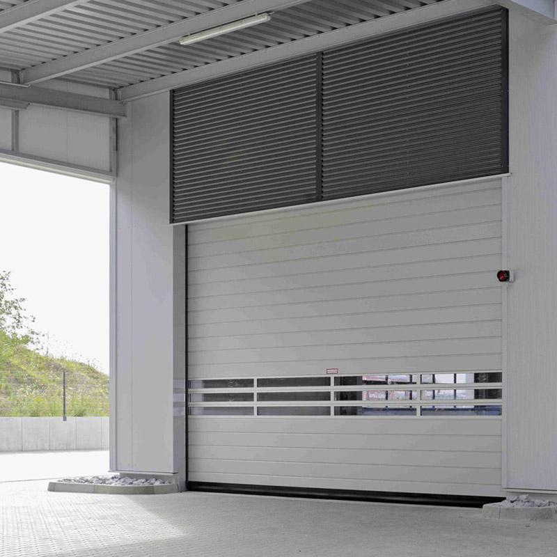 Spiraal- en snelle sectionaaldeuren voor binnen en buiten