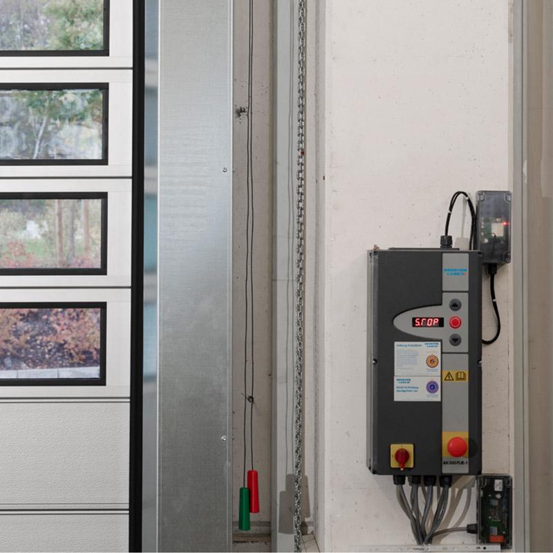 spiraal- en snelle sectionaaldeuren RTS 4000 PU V 42