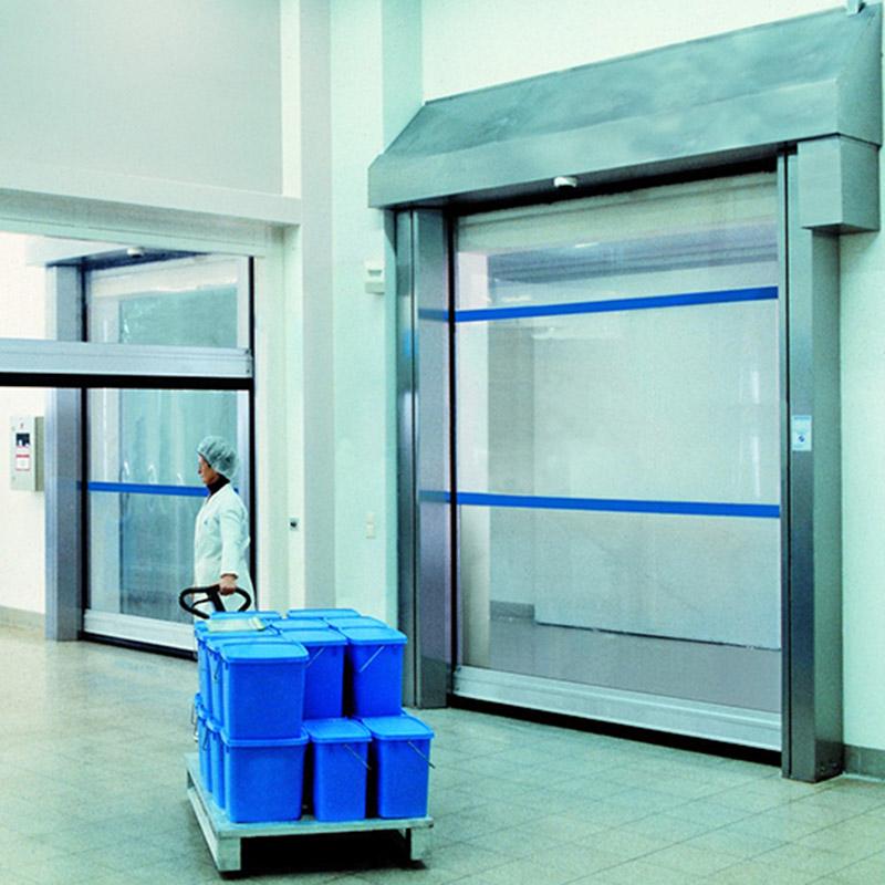 Speciale deuren voor clean rooms