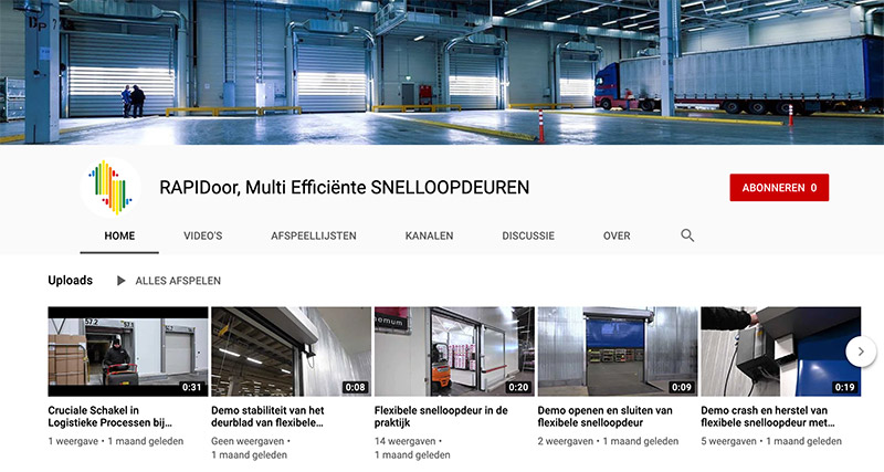 RAPIDoor nieuwe website
